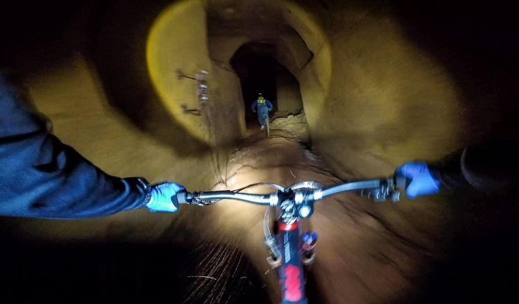 into the mine mtb underground
