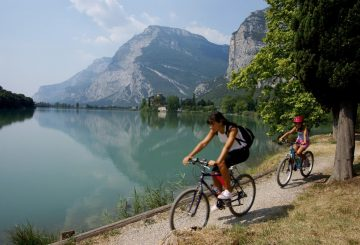 lake garda family mtb trail
