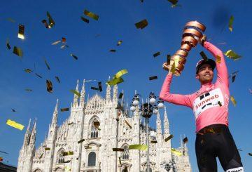 tom dumoulin giro di italia winner pink jersey winner