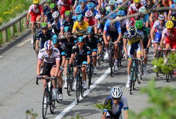 Critérium du Dauphiné road bike peloton)