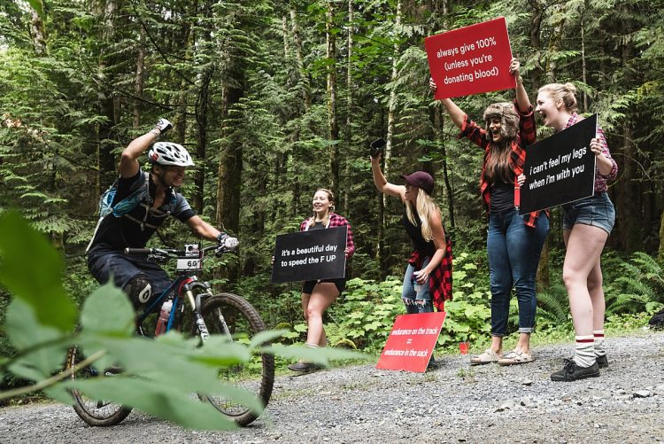 bc bike race mtb uphill cheer