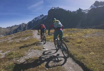 mtb trail singletrack alps