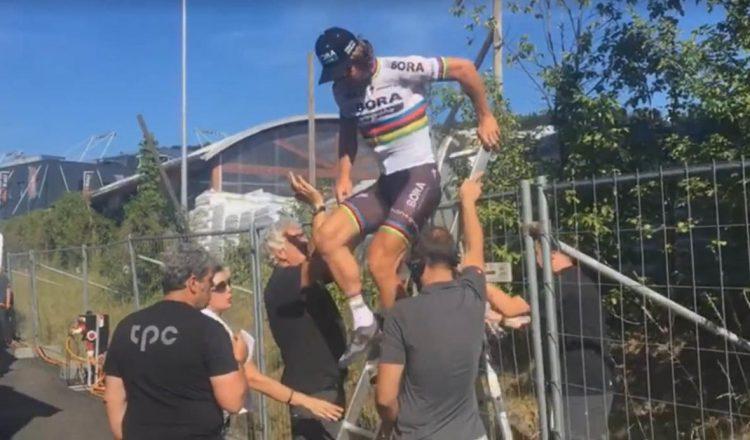 peter sagan fence