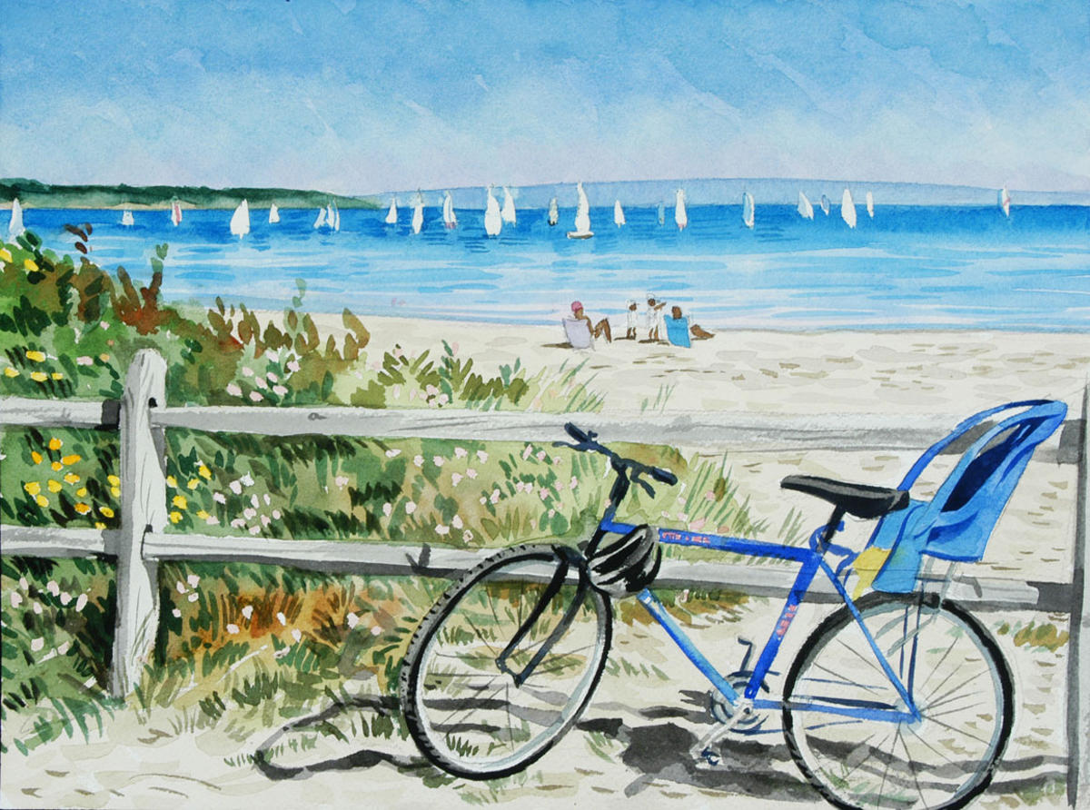 Beach-Bicycle