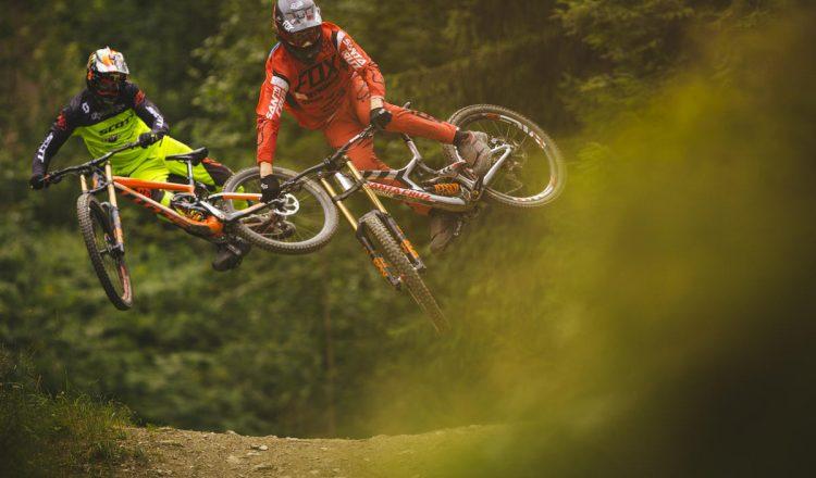 josh bryceland brendan fairclough whip downhill jump