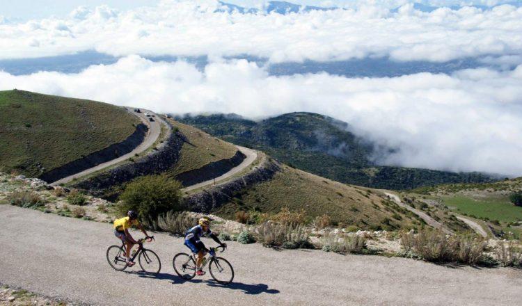 ποδηλατική ανάβαση Μιτσικελίου