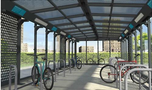 Manchester Cycle Hub 1