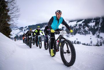 ποδήλατο και χιόνι