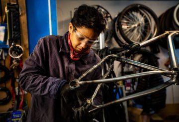 Γυναίκες στην ποδηλατική βιομηχανία
